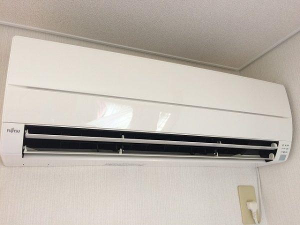 富士通エアコンクリーニング後です