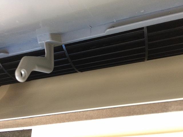 三菱製壁掛けお掃除機能付きエアコンクリーニング後