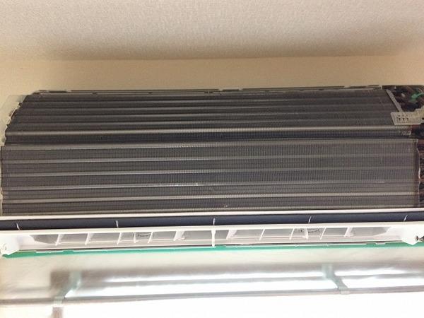シャープ製 エアコン/室外機クリーニング/山口市