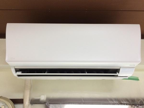 富士通製 エアコンクリーニング施工/周南市