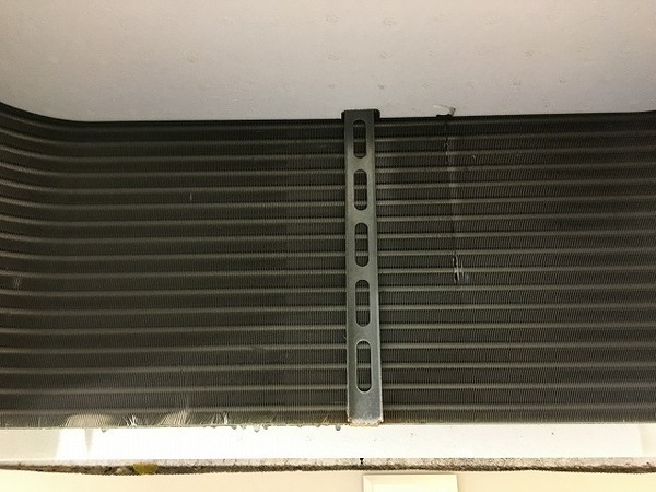 日立製 天井埋込4方向エアコンクリーニング/山口市