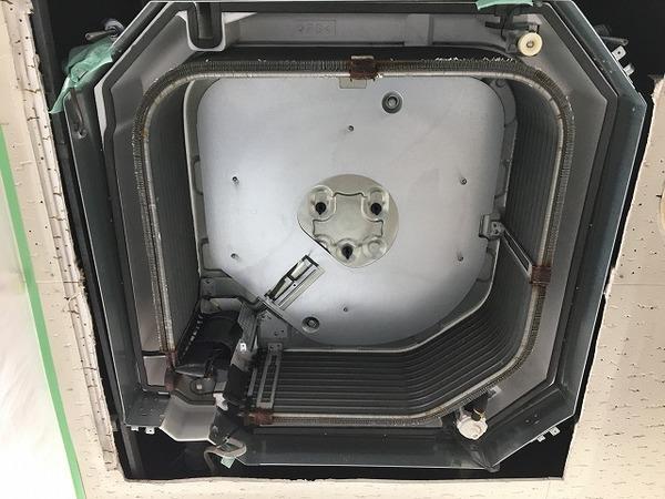 ナショナル製天井埋込4方向エアコンクリーニング/周南市