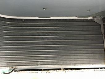 ナショナル製天井埋込4方向エアコンクリーニング/周南市の施工後画像